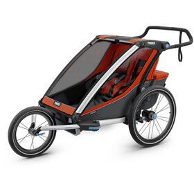Thule Chariot Cross 2 Bike Trailer roarange/dark shadow